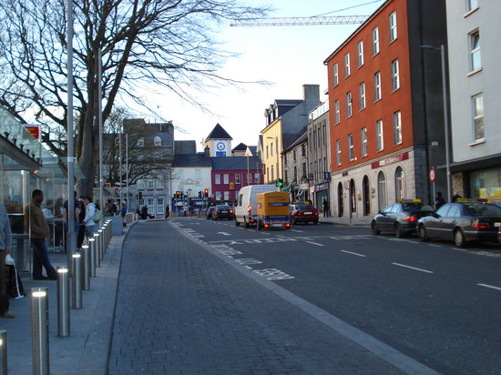 Galway City near Train Station