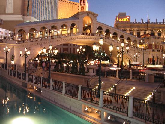 El Puente De Los Suspiros Del Hotel Venecia Las Vegas