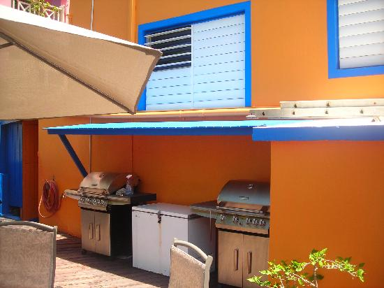 Posada la Hamaca: there was also this great grill for the guest to use