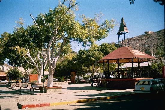 Santa Rosalia, Mexico: El quiosco, Santa Rosalía.