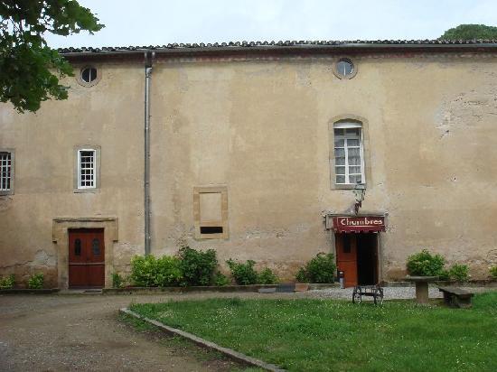 L'hostellerie de l'Eveche: Edificio de habitaciones