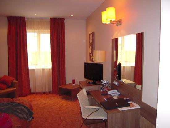 RIN Grand Hotel: La habitación