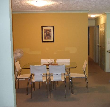 Oceanside Cove Apartments: Dining Room of our Unit