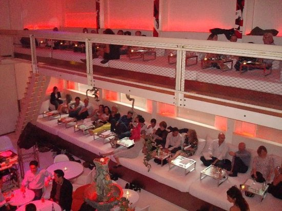 Supperclub Amsterdam: View from upstairs