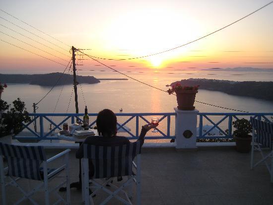 Remezzo Villas: Beautiful Sunset