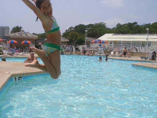 Myrtle Beach Travel Park Great Pool Area