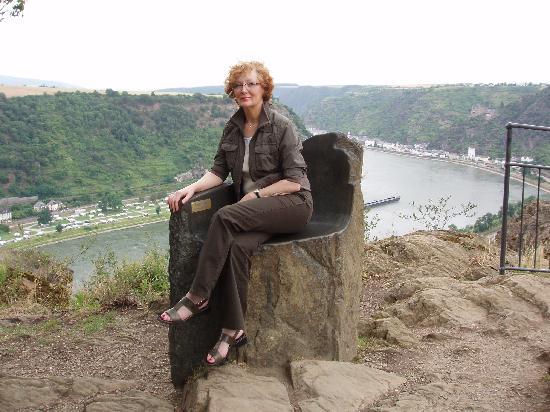 Bacharach, Deutschland: Die Loreley war auch da