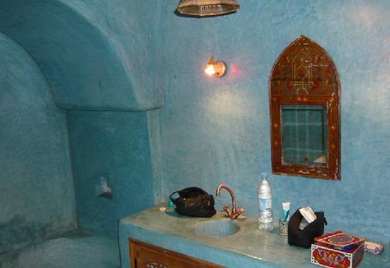 Riad Louna: une salle de bains