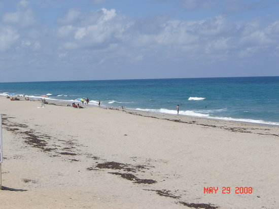 Lake Worth, Floryda: beach