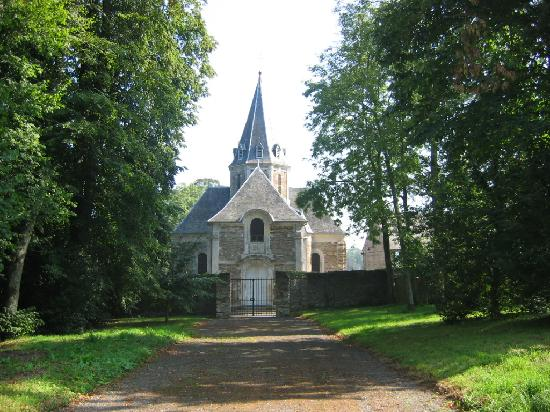 Grounds of Chateau de Balleroy
