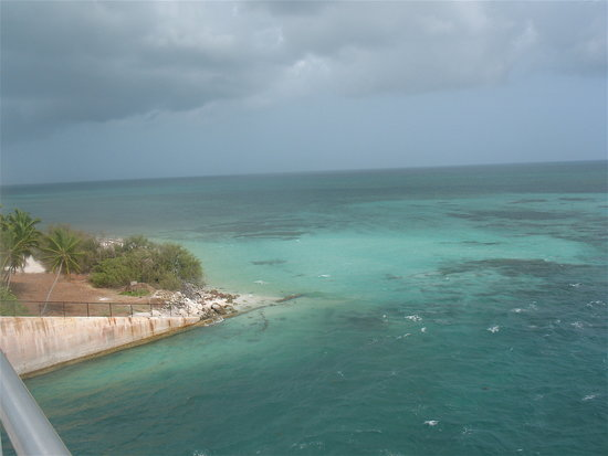 Bahia Honda State Park and Beach: view from the bridge
