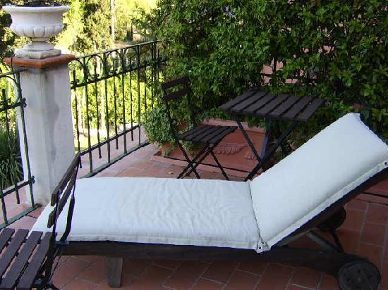 La Musa Guest House: La Musa -- Calliope Balcony