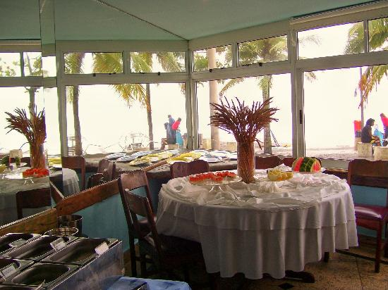 Hotel Arpoador: the amazing view from the breakfast room