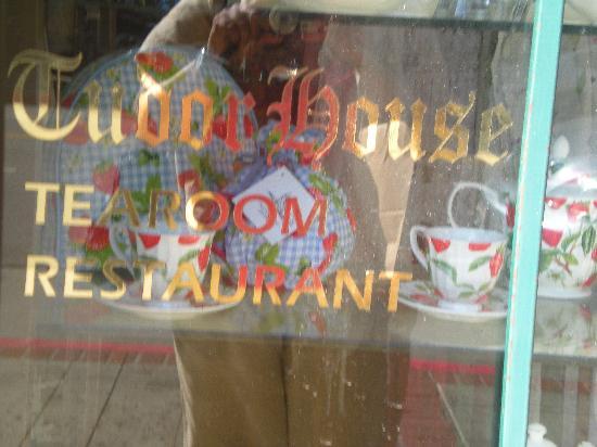 Tudor House: tea room window