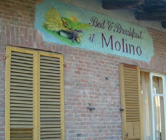 """B&B """"il MOLINO"""" Residenza Storica: Sulla terrazza della nostra camera"""