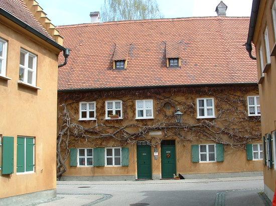 Augsburg, Duitsland: Fuggerei