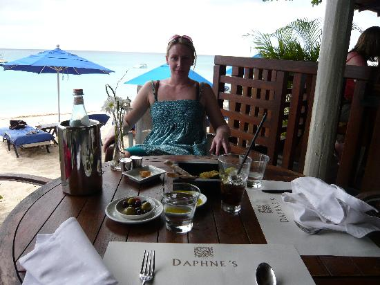 Sandy Lane Hotel: Daphne's
