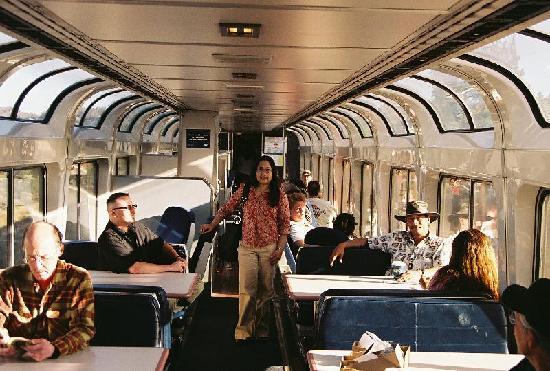Amtrak Coast Starlight: Coast Starlight Observation Car