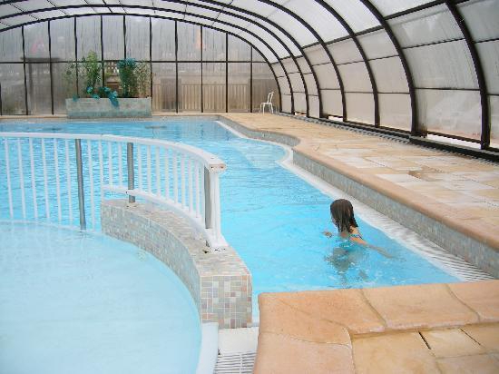 Saint-Crepin-et-Carlucet, ฝรั่งเศส: indoor pool