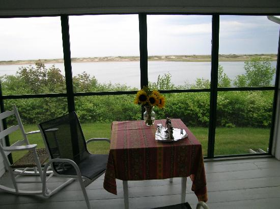 The Dunes on the Waterfront: the view in cottage #6