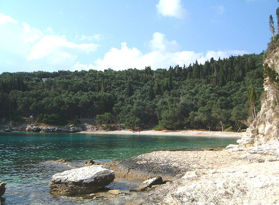 Paxos, Greece: Marmari Beach