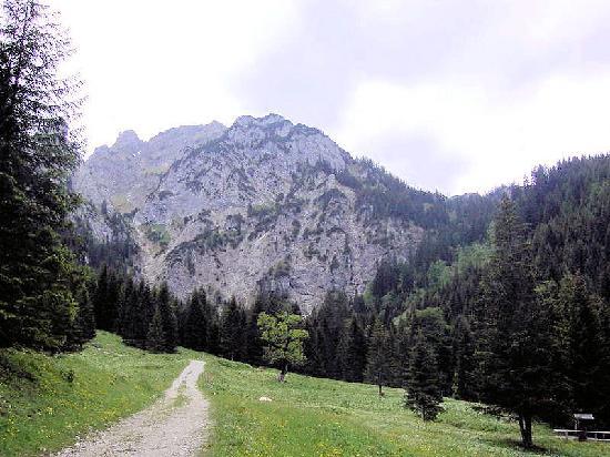 Konigswinkel: schon richtig im Berg