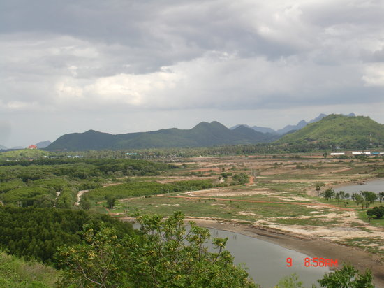 Pranburi River: view from up there