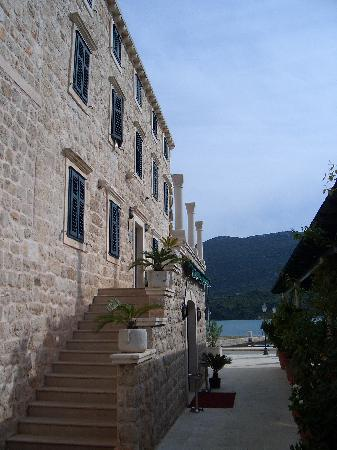 Eingang Hotel Ostrea