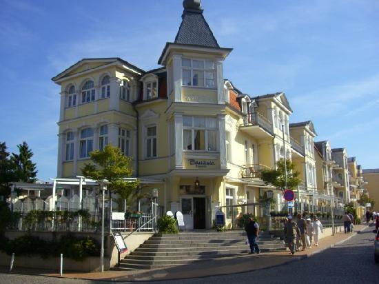 Seebad Bansin, Germany: Das ist der Eingang zum Restaurant
