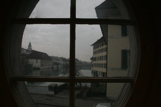 Swiss Quality an der Aare: view of the Aare, and Solothurn