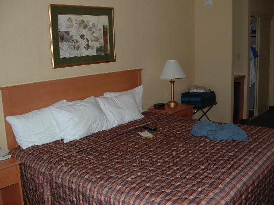 Days Inn - Orillia: king size bed