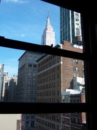 Hotel 31: Ausblick von Zimmer 812