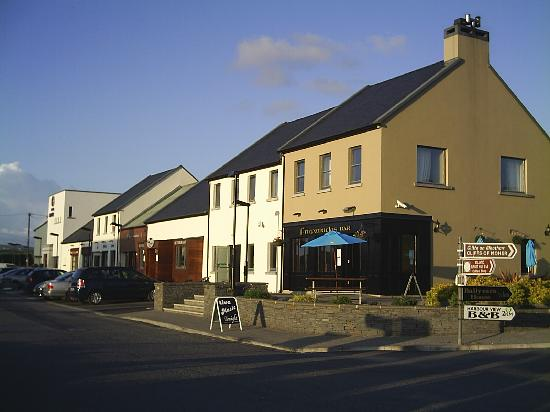 Out side of hotel Doolin