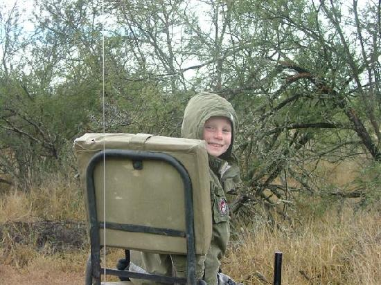 Kwandwe Private Game Reserve: Tristan our budding game guide