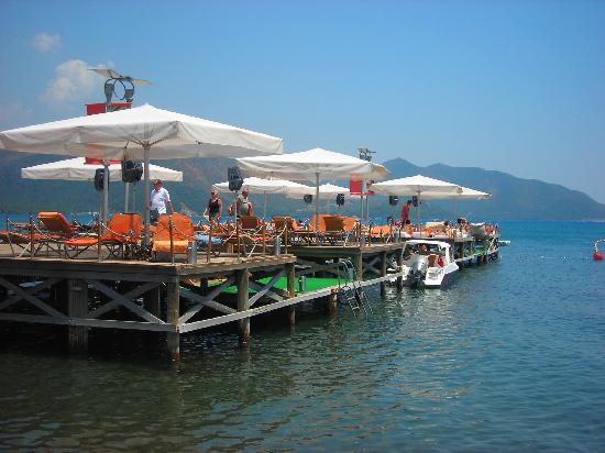 Elegance Hotels International, Marmaris: sunbathing jetty