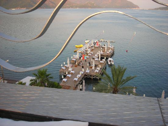 Elegance Hotels International, Marmaris : one of the outside restaurants