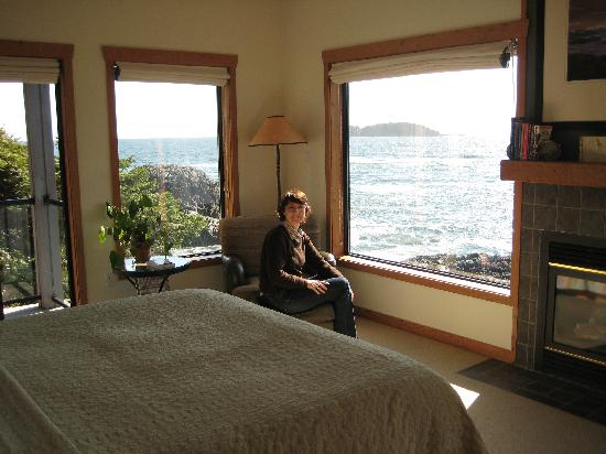 Wickaninnish Inn and The Pointe Restaurant: Premier Zimmer
