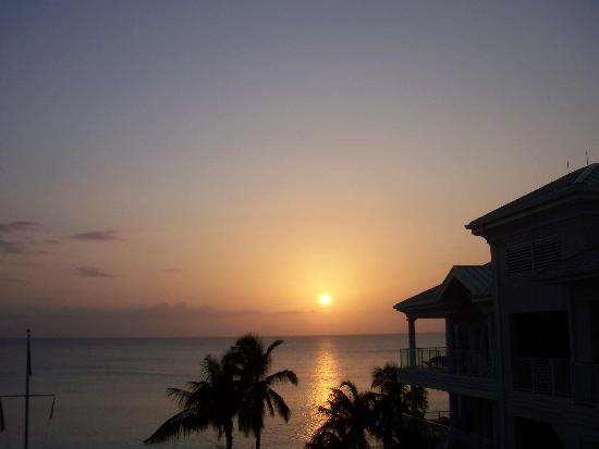 Sunset from Caribbean Club Balcony