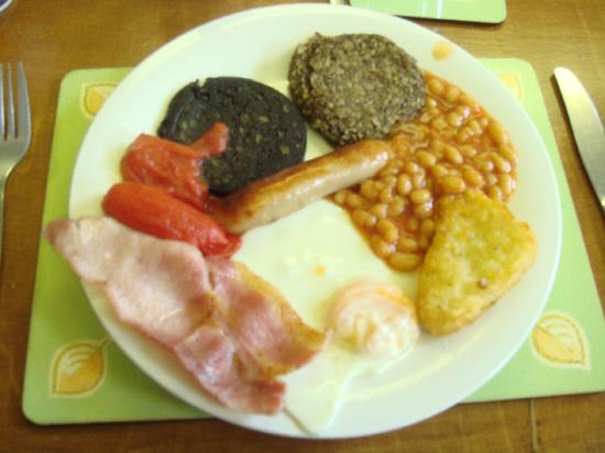 Pillars House: Scottish Haggis & Black Pudding