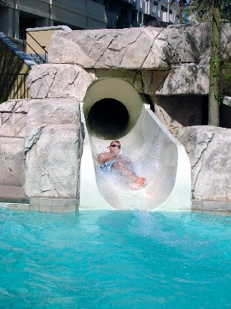My Brother On The Cancun Waterslide Picture Of Cancun