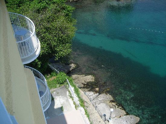 Remisens Premium Hotel Ambasador: View of sea from room 4th floor in Villa Ambassador