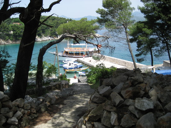 Villa Pattiera: Typical sea view taken from Cavtat