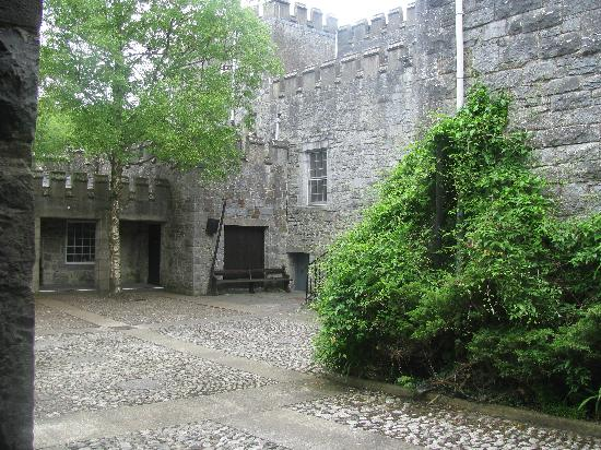 Knappogue Castle: Courtyard, Knappogue