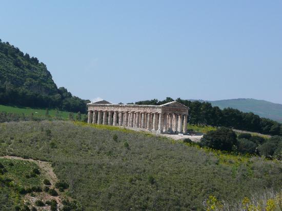 Tempio di Segesta (Tempio Influenza Greca): Il Tempio di Segesta