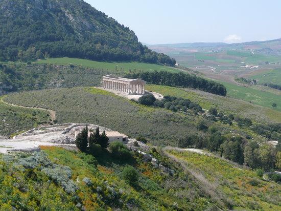 セジェスタのギリシャ神殿跡
