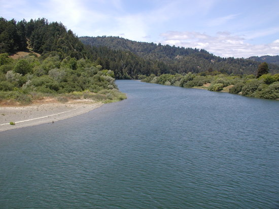Casini Ranch Campground: River at Casini Ranch