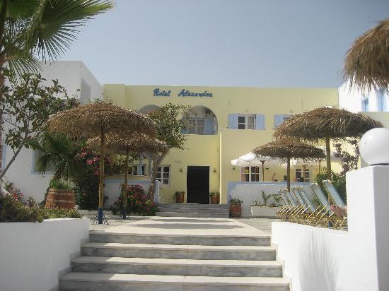 Alexandra Hotel: entrance to hotel