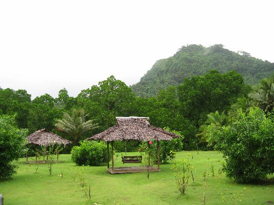 Kosrae Nautilus Resort: The garden view is stunning ...