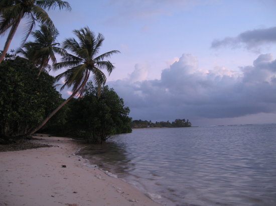 Kosrae Nautilus Resort: Wild beauty
