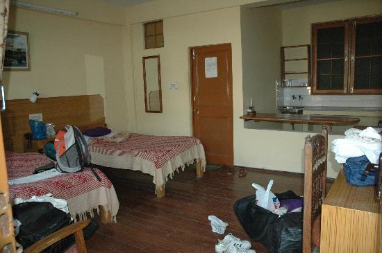 Hotel Pema Thang : Room 116. RS660 per night